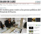 El Archivo pone rostro a los presos políticos del Penal de El Puerto