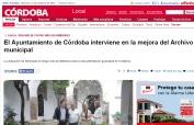 El Ayuntamiento de Córdoba interviene en la mejora del Archivo municipal