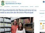 El Ayuntamiento de Nerja estrena en su web la sección de Archivo Municipal
