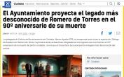 El Ayuntamiento proyecta el legado más desconocido de Romero de Torres en el 90º aniversario de su muerte