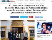 El Consistorio inaugura el Archivo Histórico Municipal de Almodóvar del Río, formado por cinco salas y la exposición permanente `Memoria escrita¿