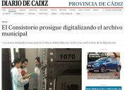 El Consistorio prosigue digitalizando el archivo municipal