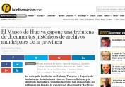 El Museo de Huelva expone una treintena de documentos históricos