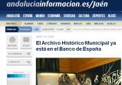 El archivo histórico municipal ya está en el Banco de España