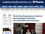 El archivo municipal se refuerza para proteger.. El Puerto