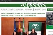 El documento del mes del Archivo Provincial repasa medidas contra riadas del Guadalmedina