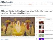 El fondo digital del Archivo Municipal de Sevilla crece con carteles y documentos históricos