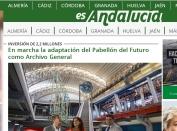 En marcha la adaptación del Pabellón del Futuro como Archivo General