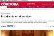 Estudiando en el Archivo - Córdoba