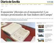 Exposición Herejes en el monasterio Los monjes protestantes de San Isidoro del Campo