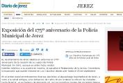 Exposición del 175º aniversario de la Policía Municipal de Jerez