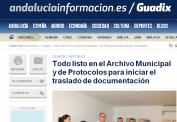 Guadix -archivo municipal y protocolos traslado