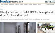 Hinojos destina parte del PFEA a la ampliación de su Archivo Municipal