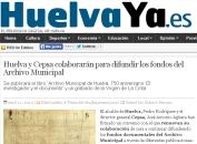 Huelva y Cepsa colaborarán difusión archivo