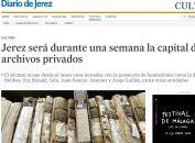 Jerez será durante una semana la capital de los archivos privados