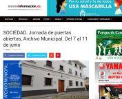 Jornada de puertas abiertas, Archivo Municipal. Del 7 al 11 de junio Morón Frontera