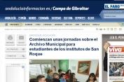 Jornadas archivo municipal San Roque