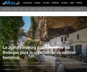 La Junta colabora con Setenil de las Bodegas para la creación de su archivo histórico