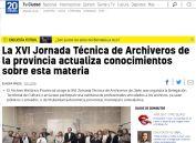 La XVI Jornada Técnica de Archiveros de la provincia actualiza conocimientos sobre esta materia