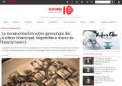 La documentación sobre genealogía del Archivo Municipal de Algeciras, disponible a través de Family Search