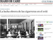 La lucha obrera de las cigarreras en el xviii