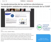 La modernización de los archivos electrónicos municipales andaluces centra una jornada de la FAMP