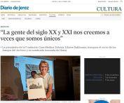La presidenta de la Fundación Casa Medina Sidonia, Liliane Dahlmann, inaugura el curso de los Amigos del Archivo y es nombrada Asociada de Honor
