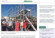 La rehabilitación de la cubierta del Archivo Histórico Provincial de Sevilla finaliza en octubre