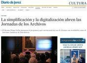 La simplificación y la digitalización abren las Jornadas de los Archivos