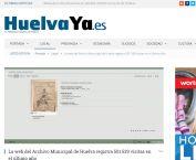 La web del Archivo Municipal de Huelva registra 501.539 visitas en el último año