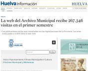 La web del Archivo Municipal recibe 267.346 visitas en el primer semestre