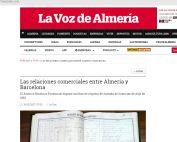 Las relaciones comerciales entre Almería y Barcelona