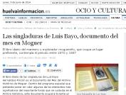Las singladuras de Luis Bayo, documento del mes en Moguer