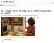 Las «arquitecturas en papel» de los archivos diocesanos de Sevilla