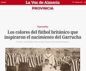 Los colores del fútbol británico que inspiraron el nacimiento del Garrucha