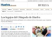 Los legajos del Obispado de Huelva
