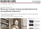 María de Aranda, la desconocida historia de una gaditana impresora