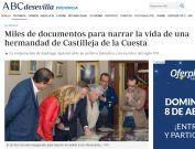 Miles de documentos para narrar la vida de una hermandad de Castilleja de la Cuesta