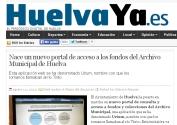Nace un nuevo portal de acceso a los fondos del Archivo Municipal de Huelva