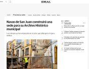 Navas de San Juan construirá una sede para su Archivo Histórico municipal