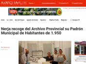 Nerja recoge del Archivo Provincial su Padrón Municipal de Habitantes de 1.950