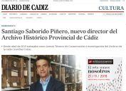Santiago Saborido Piñero, nuevo director del Archivo Histórico Provincial de Cádiz