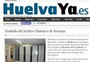 Traslado del Archivo Histórico de Rociana