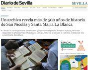 Un archivo revela más de 500 años de historia de San Nicolás y Santa María La Blanca