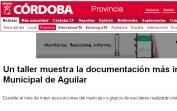 Un taller muestra la documentación más importante del Archivo Municipal de Aguilar
