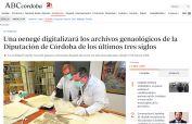 Una oenegé digitalizará los archivos genaológicos de la Diputación de Córdoba de los últimos tres siglos