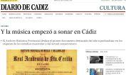 Y la música empezó a sonar en Cádiz
