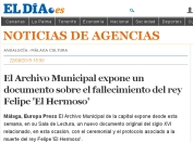 archivo municipal Málaga documento Felipe el Hermoso