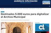 destinados 5000 euros para digitalizar el archivo municipal
