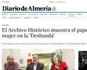 el archivo histórico muestra el papel de la mujer en
